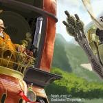 Steampunk Tortoise & Hare Detail